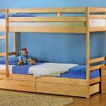 кровать деревянная икеа мидал